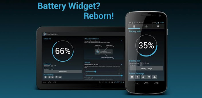 Battery Widget? Reborn!-Android