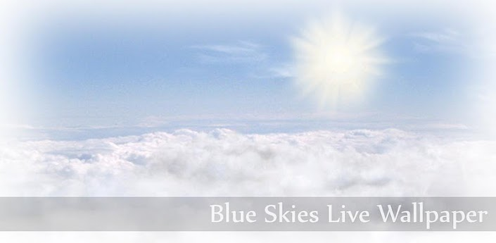 Blue Skies Live Wallpaper-Android