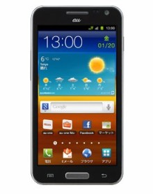android-GALAXY SII WiMAX ISW11SC