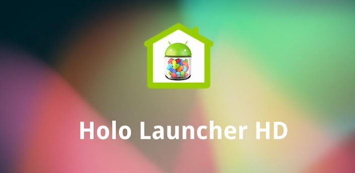 Holo Launcher HD-Android