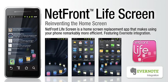 NetFront Life Screen-Android