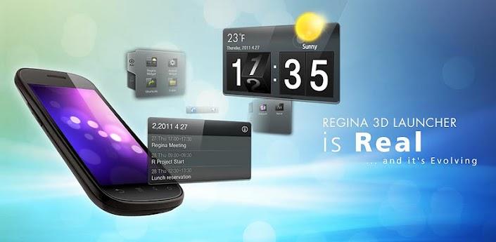 Regina 3D Launcher-Androidアプリ