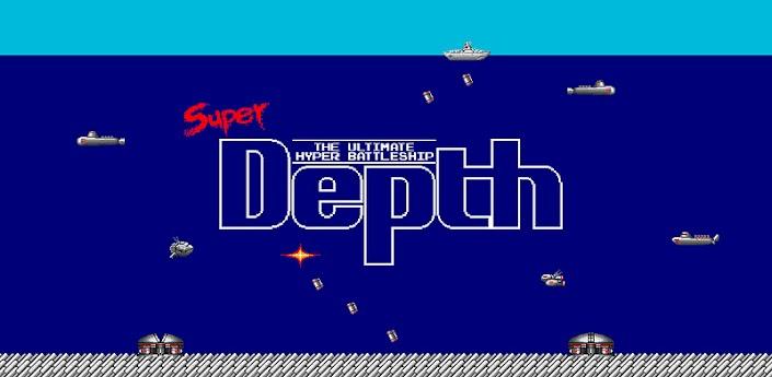 Super Depth:昔、夢中になったあの潜水艦シューティング #Androidゲーム