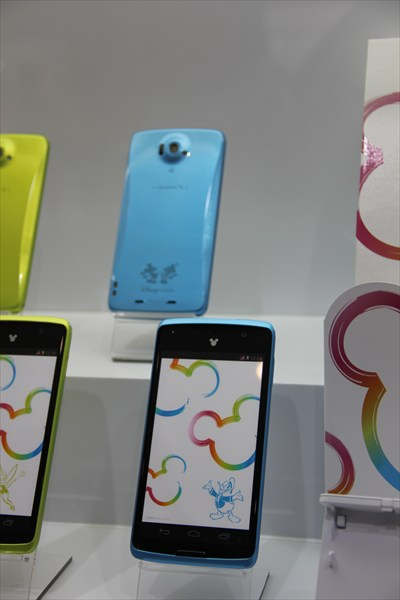 android-Disney Mobile on docomo N-03E