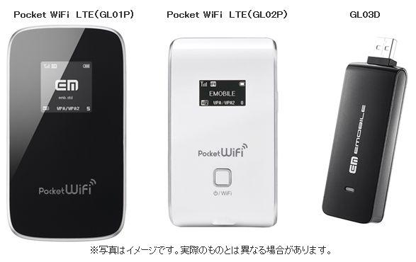 android-emobile-LTE-対応端末