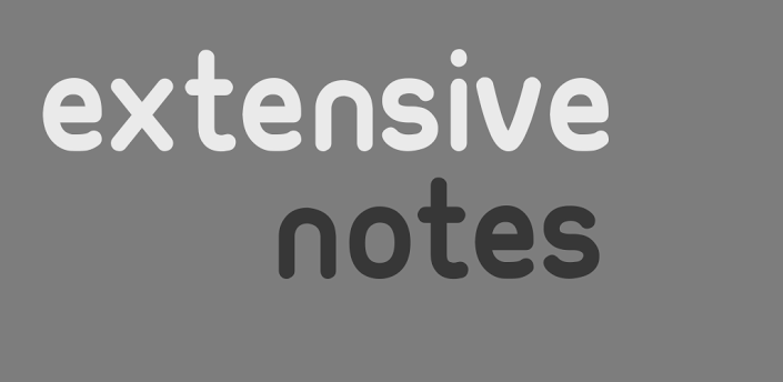 Extensive Notes Pro-Android