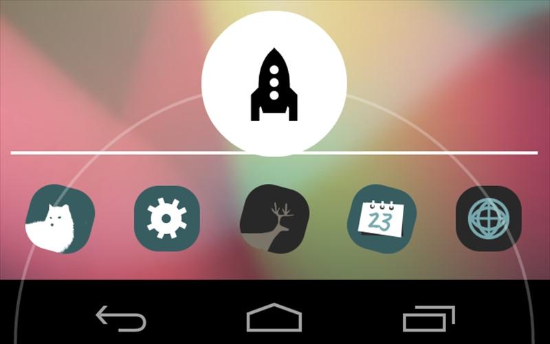 アプリ「Home Button Launcher」Google Nowを使わない人に便利なランチャー #Android