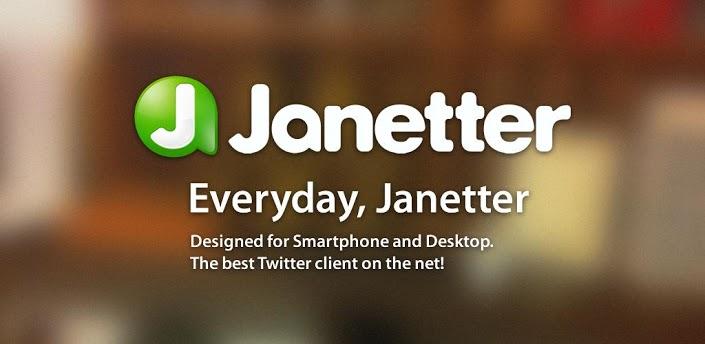 アプリ「Janetter for Twitter」複数アカウントのタイムラインをスワイプだけでチェックできる #Android #iPhone
