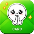 android-LINE Card
