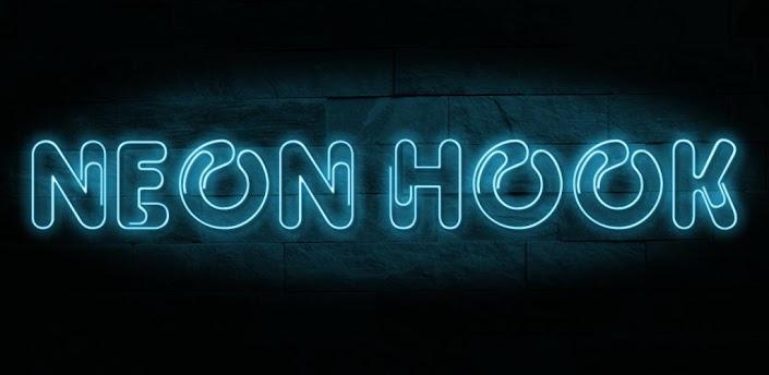 ゲーム「Neon Hook」ジャンプで上へと駆け上がる爽快感満点のフックアクション #Android