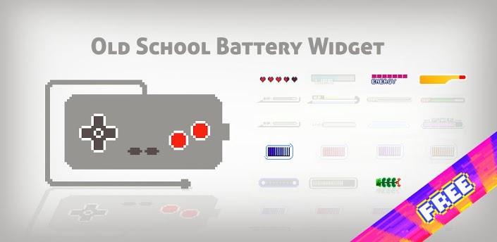 OldSchool BatteryWidget-Android