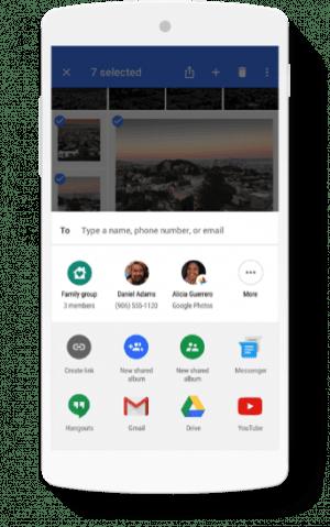 ファミリーグループ:Googleフォト