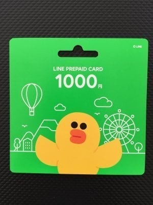 LINEプリペイドカード スタンプ 買い方