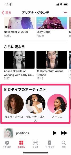 Apple Music アーティスト情報