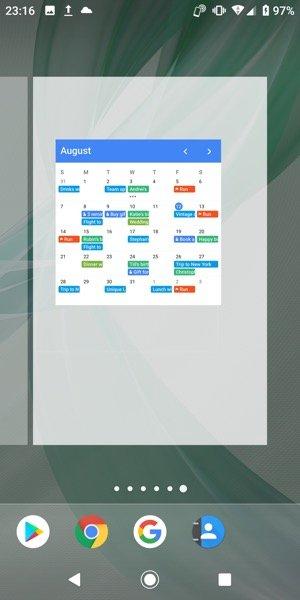 【Evie Launcher】ホーム画面のページ追加