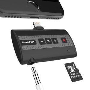iPhone 通話録音デバイス PhotoFast Call Recorder X