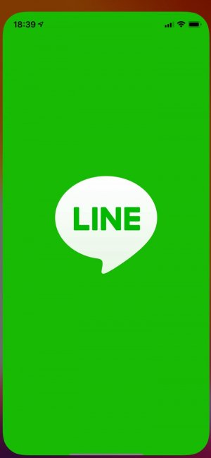 LINE 再起動