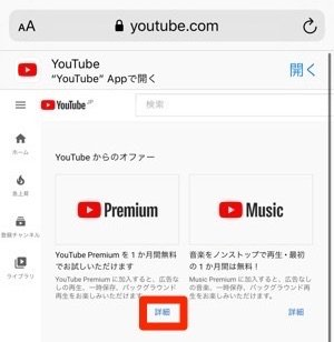 YouTubePremium 詳細