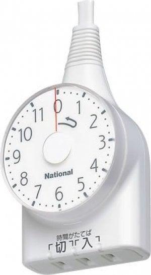 パナソニック ダイヤルタイマー11時間形・1mコード付 WH3111WP