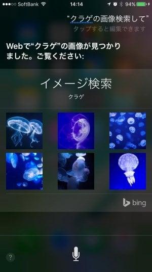 iPhone:Siriで画像検索