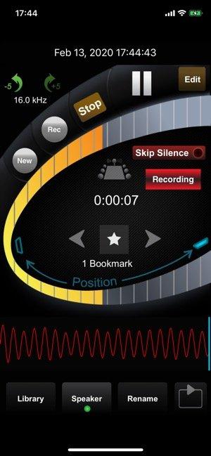 iPhoneアプリ100選 HT Professional Recorder