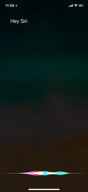 iPhone X:Siri起動