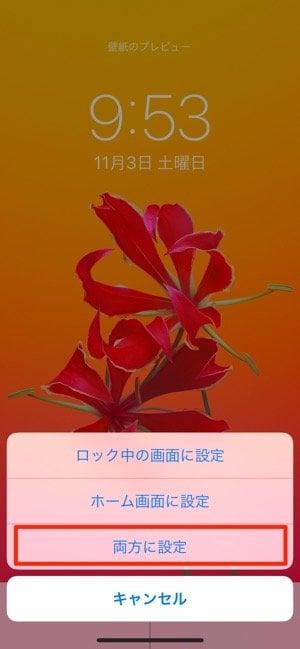 iPhone:設定アプリ