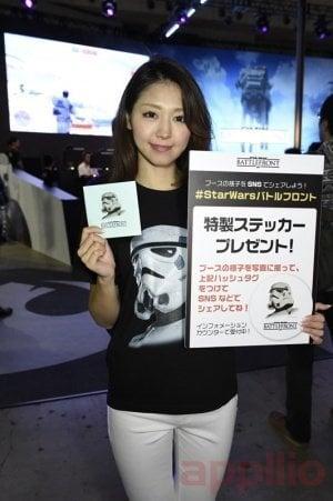 東京ゲームショウ2015コンパニオン写真