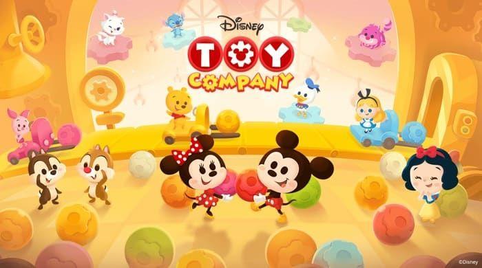「ツムツム」に続く2作目、LINE×ディズニーのゲームアプリ「トイカンパニー」の事前登録が開始