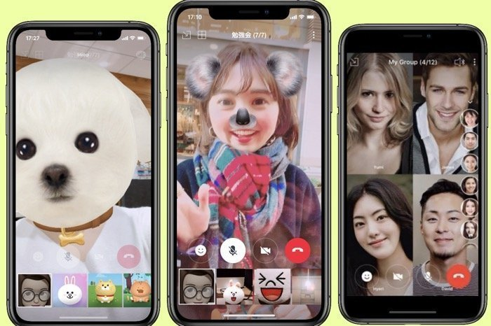 【LINE】複数人グループでビデオ通話を使う方法、最大200人まで同時接続可能