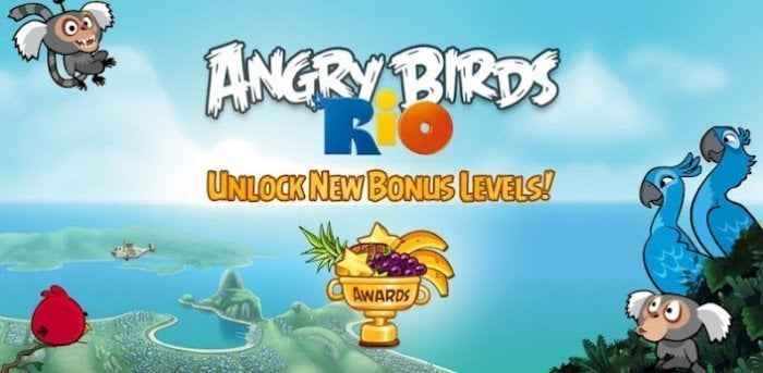 Angry Birds Rio 攻略