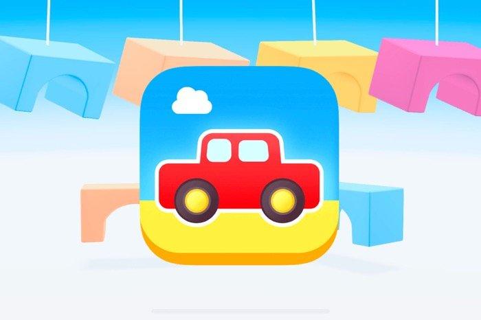 かわいいブロックとパズルで覚える形・色・数、2歳から使える子ども向け知育アプリ「Puzzle Shapes」
