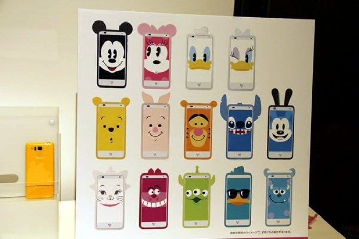 Disney Mobile on SoftBank DM015K