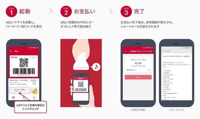 ドコモ、新スマホ決済「d払い」を提供 店舗でバーコードを読み込み毎月の携帯電話料金と合算 dポイントも貯まる・使える