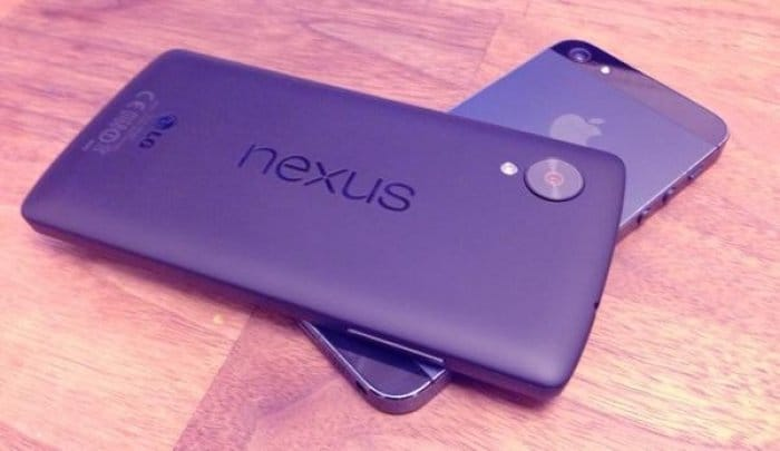 Nexus 5 & iPhone 5
