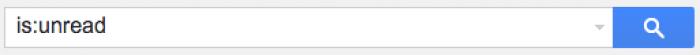 Gmail検索コマンド is:unread