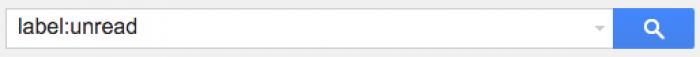 Gmail検索コマンド label:unread