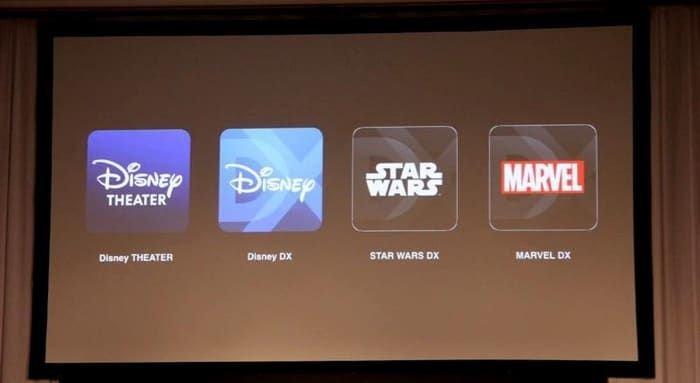 「Disney DELUXE」 4つの専用アプリ