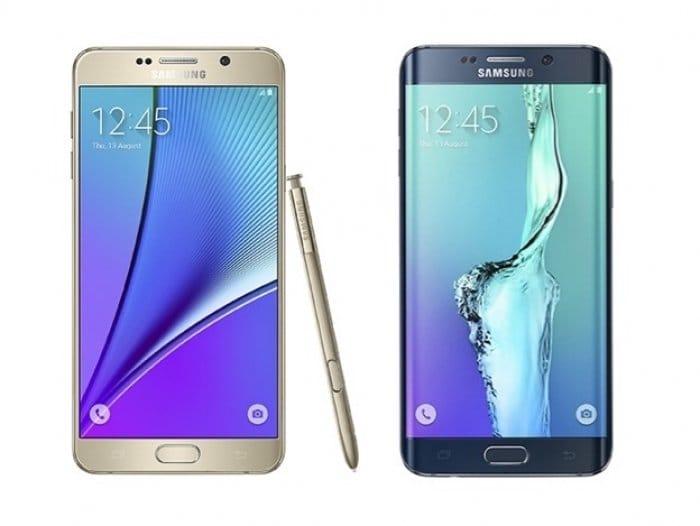 Galaxy S6 edge+ Galaxy Note5
