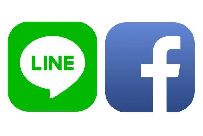 LINE Facebook ログイン