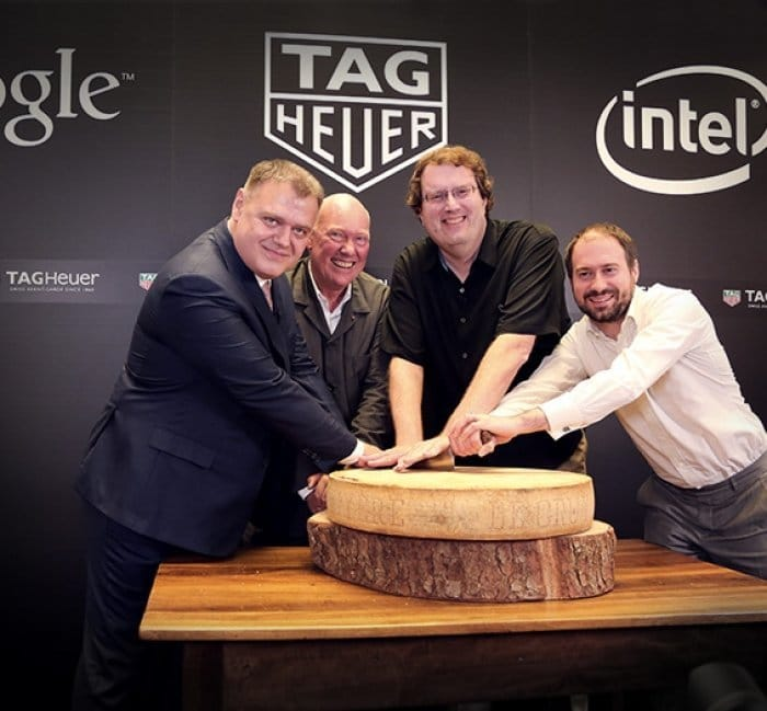 TAG HEUER, GOOGLE, AND INTEL ANNOUNCE SWISS SMARTWATCH COLLABORATION