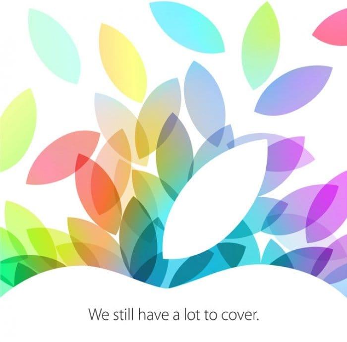 Apple、10月22日にイベント開催を正式発表 新iPadや新iPad miniをお披露目