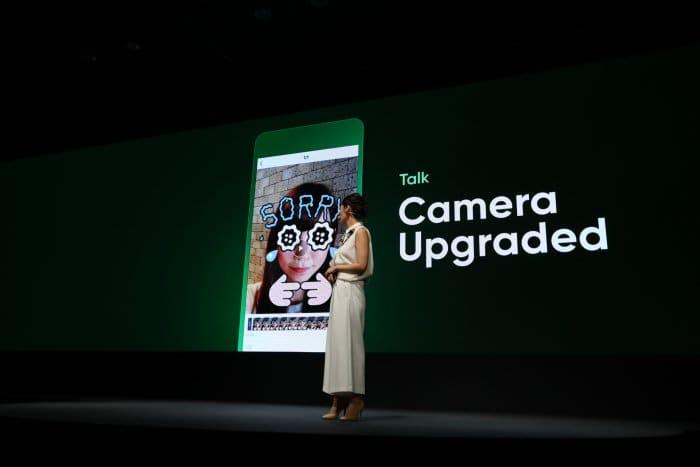 LINE 新機能 カメラ
