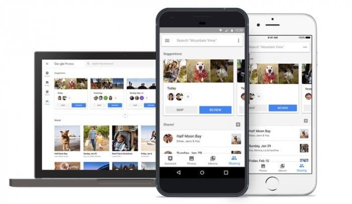 Googleフォト:共有の提案