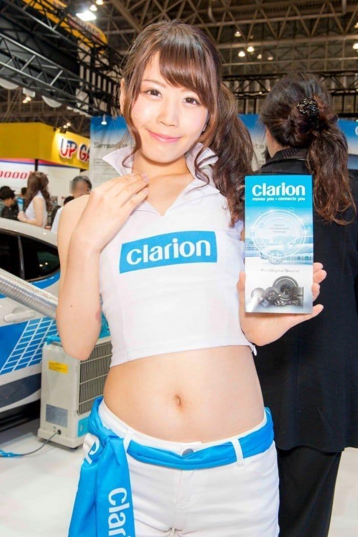 コンパニオン写真 東京オートサロン 2017