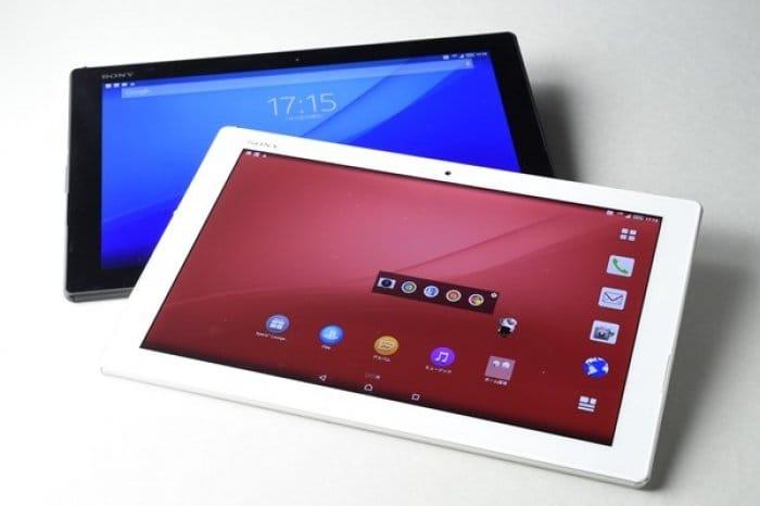 ドコモ「Xperia Z4 Tablet SO-05G」