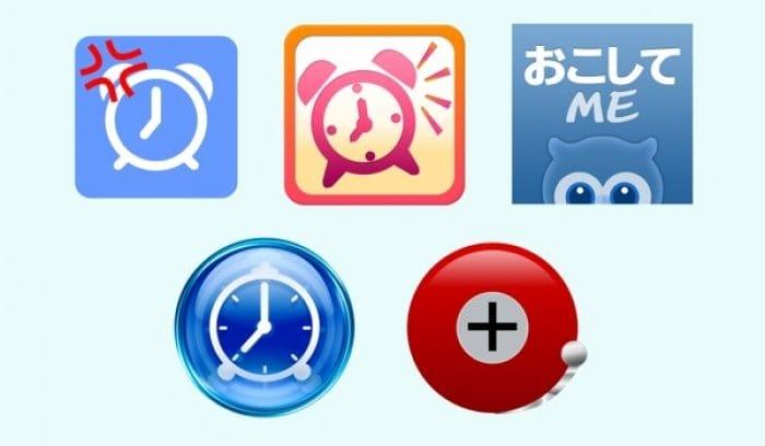 目覚ましアプリ5選