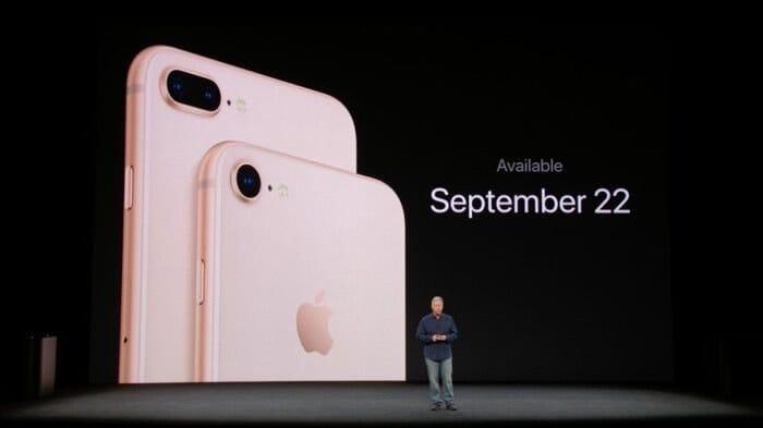 iPhone 8/8 Plus 発売日 予約開始日