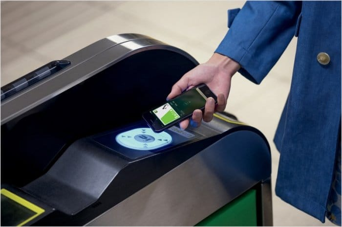 Apple Pay:Suica
