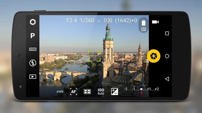 Camera FV-5 Android カメラアプリ